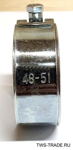 Хомут РОБУСТ 48-51 мм силовой