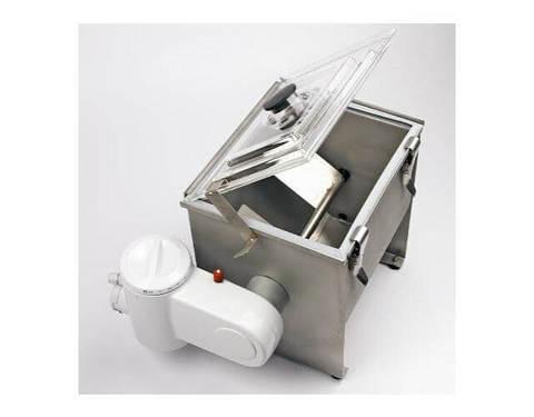 Маслобойка Milky FJ 10:  лопасти, контейнер - нержавеющая сталь, фото