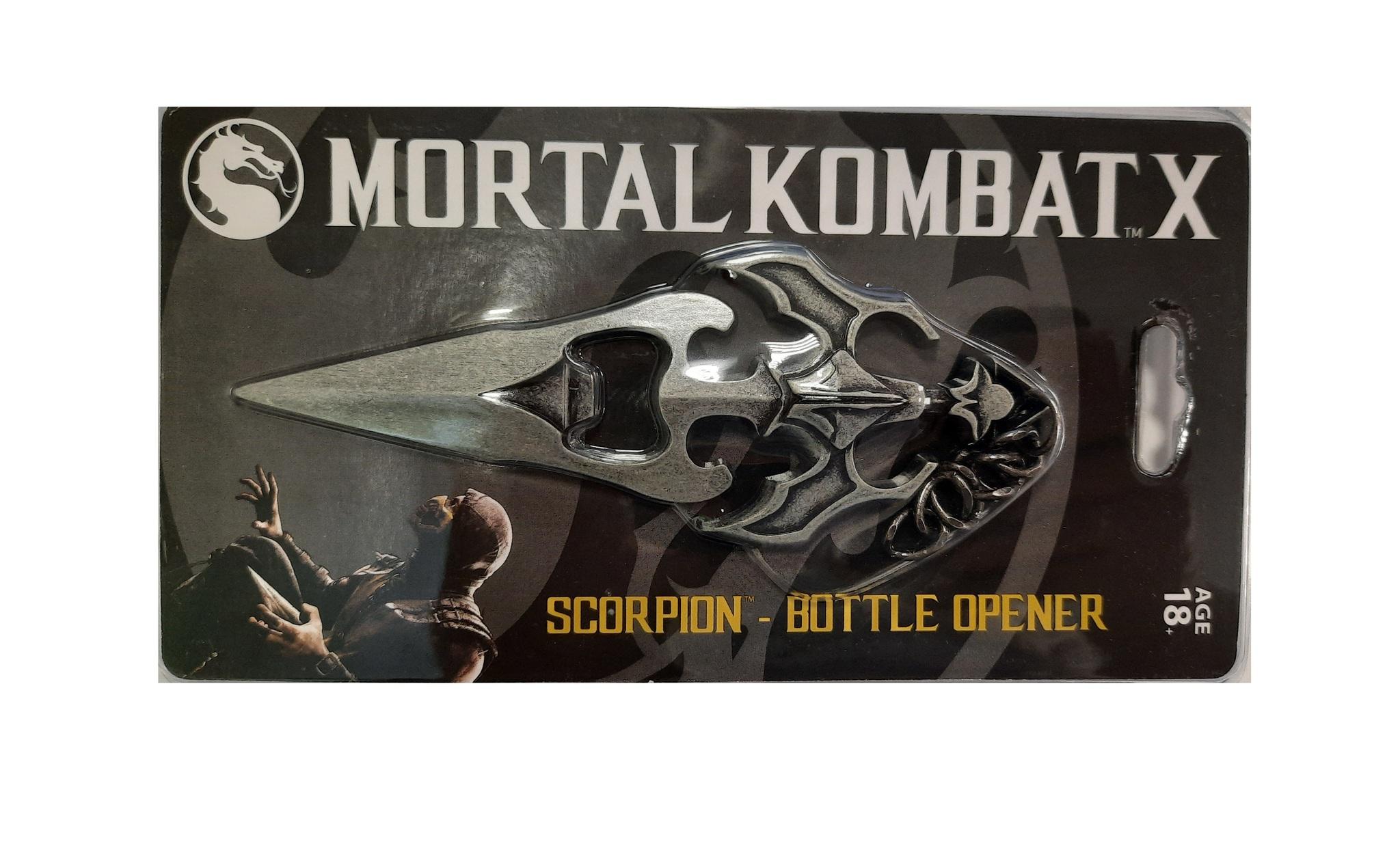 Мортал Комбат открывалка для бутылок кинжал Скорпиона