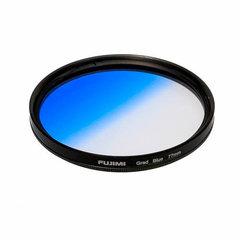 Градиентный фильтр Fujimi GC-BLUE голубой 58 мм