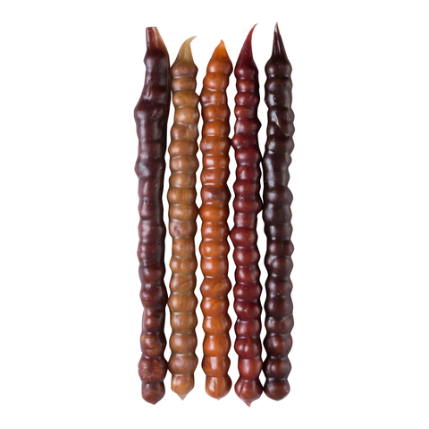 Чурчхела ассорти с фундуком (абрикос, вишня, гранат, светлый и тёмный виноград), 5 шт. в упаковке