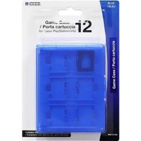 Футляр Hori для 12 игровых флэшкарт (PS Vita, синий)
