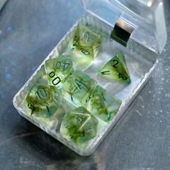 Крафтовые кубы - Зеленый с зеленым