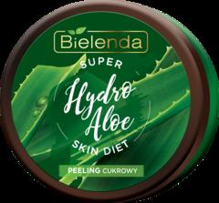 SUPER SKIN DIET Hydro Aloe увлажняющий сахарный скраб для тела Алоэ 350мл