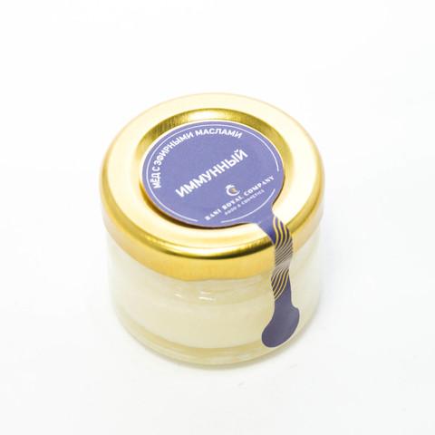 Мёд с эфирными маслами «Иммунный» 30 г