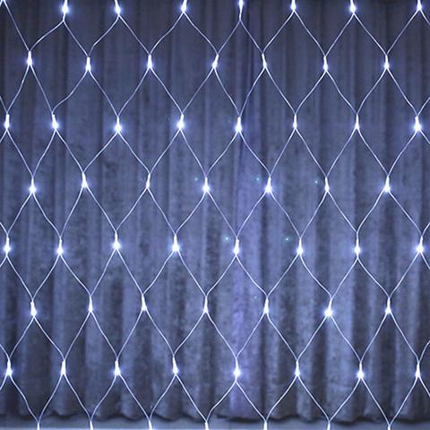 Гирлянда сетка LED Размер 180*180 Белая