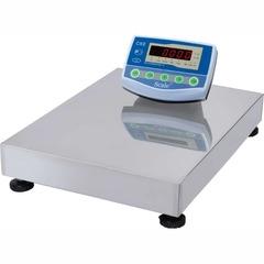 Весы товарные напольные SCALE СКЕ-300-4560, RS232, 300кг, 50/100гр, 450*600, с поверкой