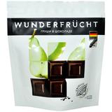 WunderFrucht Конфеты Груша в темном шоколаде 54%, 180 г