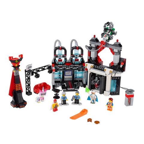 LEGO Movie: Логово лорда Бизнеса 70809 — Lord Business' Evil Lair — Лего Муви Фильм