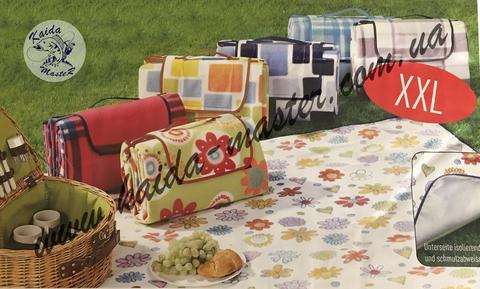 Коврик (покрывало) для пикника с фольгой
