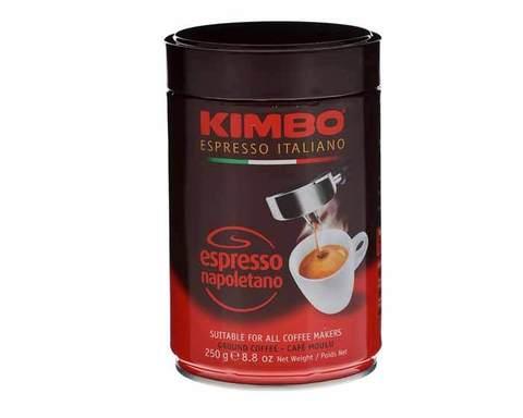 Кофе молотый Kimbo Espresso Napoletano, 250 г в жестяной банке