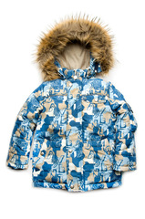 Зимняя куртка Буквы