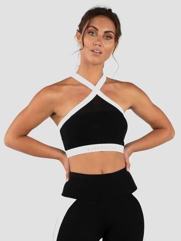 Женский топ Ryderwear Empire Mesh Sports Bra - Black