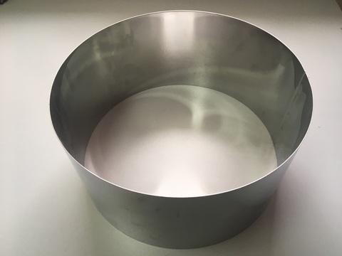 Кольцо-резак для торта H15 D30, нерж. сталь 1 мм.
