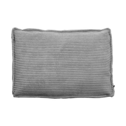 Подушка Blok 50x70см серая