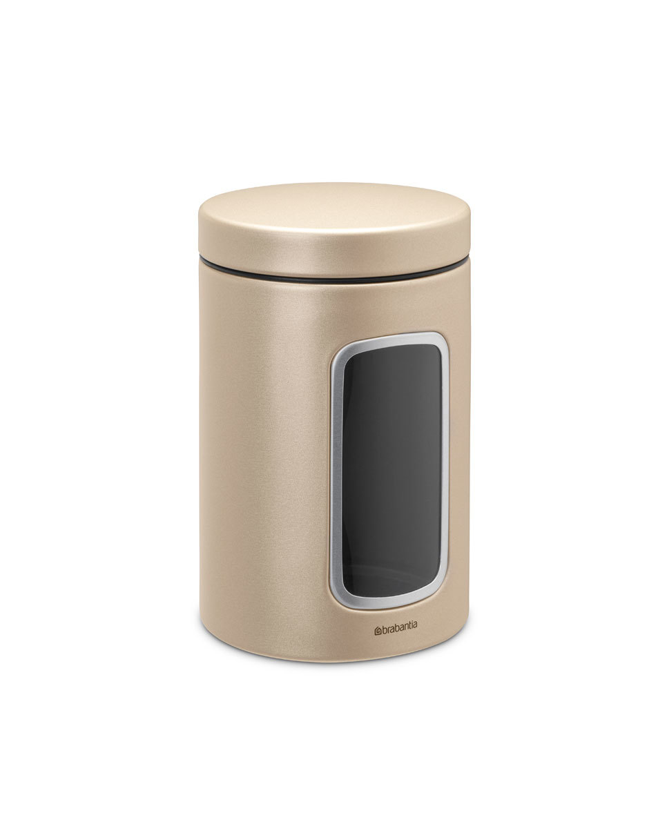 Контейнер для сыпучих продуктов с окном (1,4 л), Шампань, арт. 304828 - фото 1
