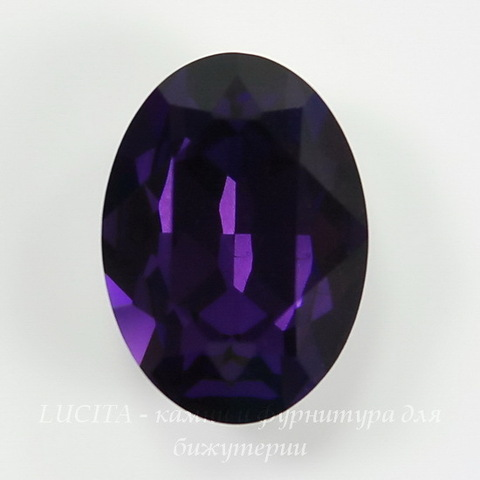 4120 Ювелирные стразы Сваровски Purple Velvet (18х13 мм) ()