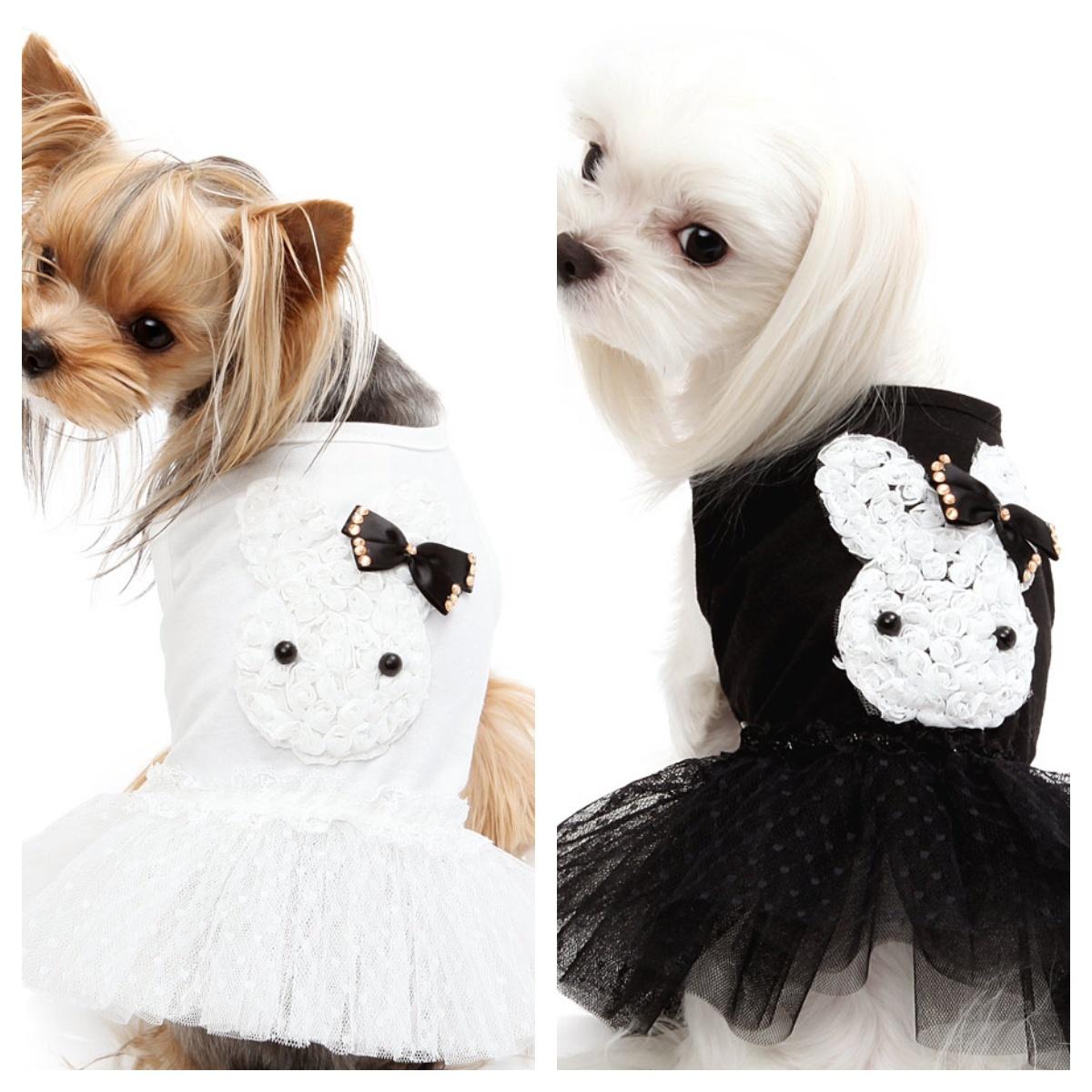 128 платье для собак зайка