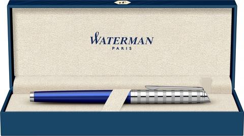 Ручка перьевая Waterman Hemisphere French riviera Deluxe BLU LOUNGE в подарочной коробке123