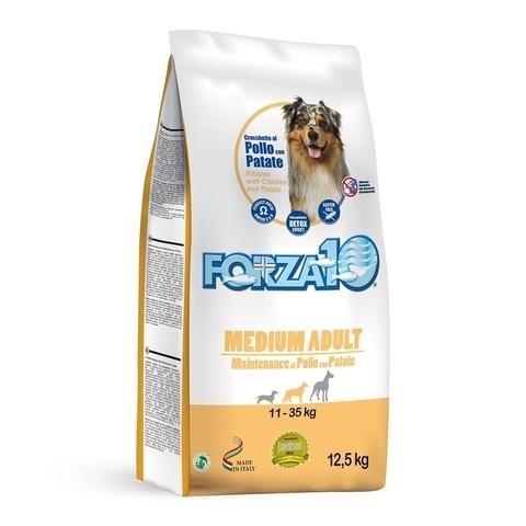 купить форза10 FORZA10 Maintenance Medium Adult al Pollo con Patate форца10 сухой корм для собак мелких пород с курицей и картофелем 15 кг