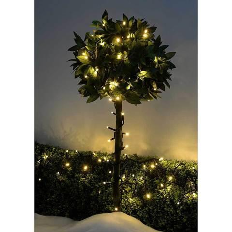 На дерево гирлянда нить уличная в нешняя с водонепроницаемая смотреть купить LED каучук