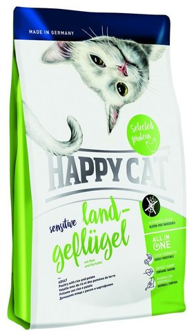 Сухой корм Happy Cat Sensitive Poultry