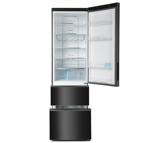 Холодильник HAIER A2F737CBXG (2 m, черный металл., 3х-секц)