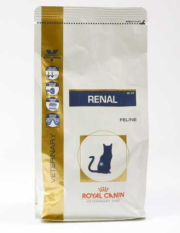 Royal Canin Renal RF23 корм для взрослых кошек с хронической почечной недостаточностью 500г