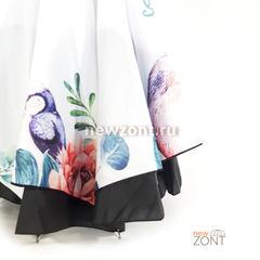 Антизонт «Птицы в саду» на белом куполе п/автомат (откр)