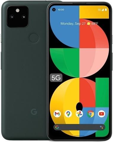 Смартфон Google Pixel 5a 5G 6/128GB Mostly Black (Черный) (USA)