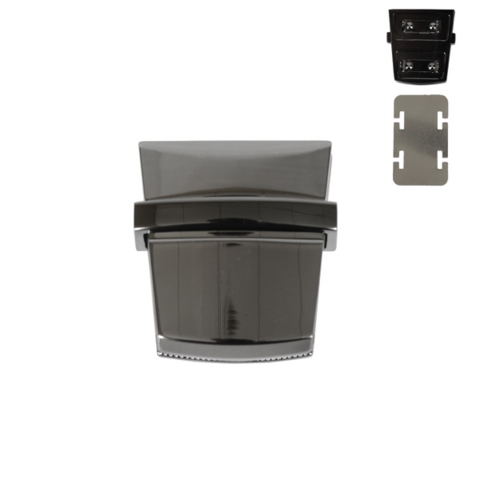 """Портфельный замок """"Трапеция"""" (цвет на выбор) для вязаных и кожаных клапанов"""