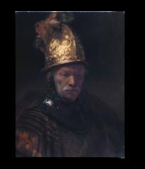 """Репродукция """" Рембрандт - Мужчина в золотом шлеме"""""""