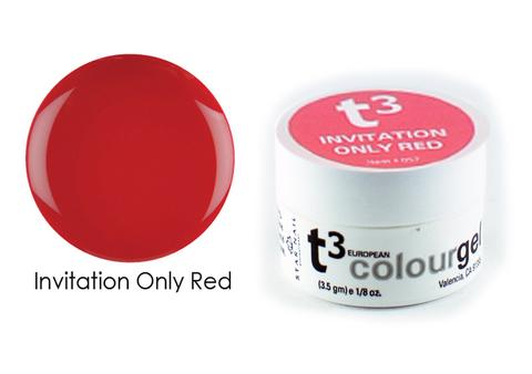 Гель Т3 с кератином красный 3,5 г