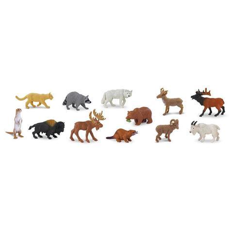 Набор фигурок Животные Северной Америки, Safari Ltd.