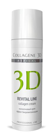 *Коллагеновый крем эффект биоревитализации (Collagene 3D/REVITAL LINE/30мл/007022)