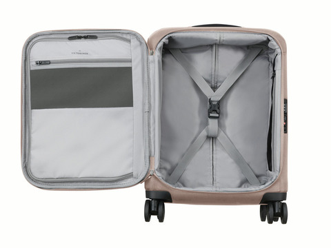 Чемодан Victorinox Connex, серый, 40x20x55 см, 28 л