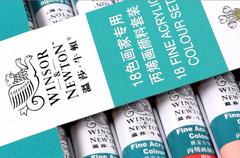 Набор акриловых красок Winsor&Newton, 24 цвета 10 мл