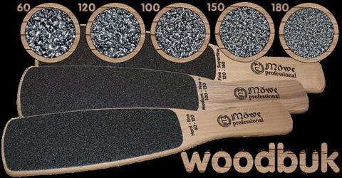 Тёрка двухсторонняя деревянная WOODBUK