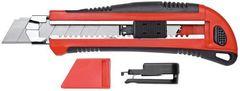 Канцелярский нож с 5 запасными лезвиями | Gedoretools.ru
