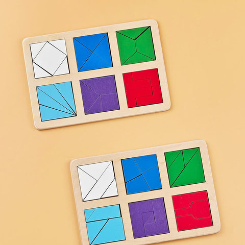 Сложи квадрат Б.П.Никитин 2 уровень (мини) Радуга кидс
