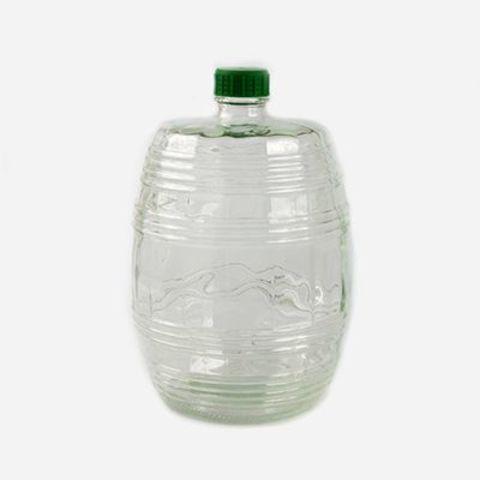Бутыль прозрачная Бариле с крышкой 10л
