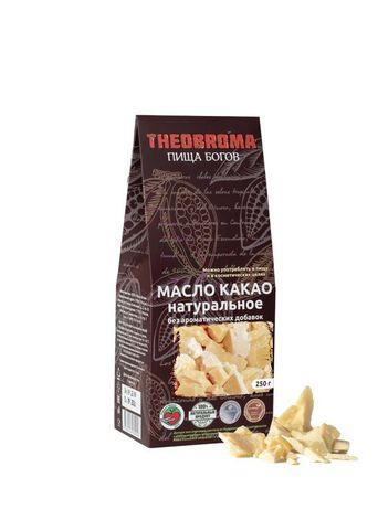 Какао-масло натур.250г Theobroma