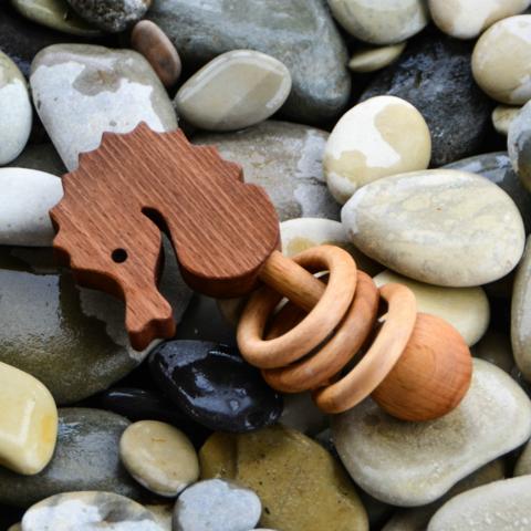 Погремушка - грызунок Морской конёк