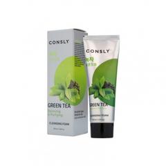 Consly - Кремовая пенка для умывания с экстрактом зеленого чая, 100мл