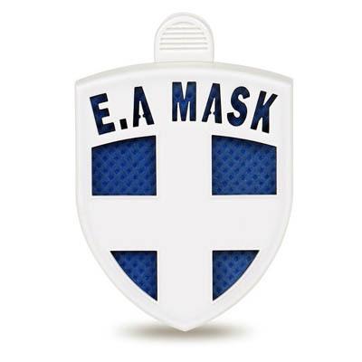 ECOM AIR MASK (BLUE) - virus blocker as clip on clothes