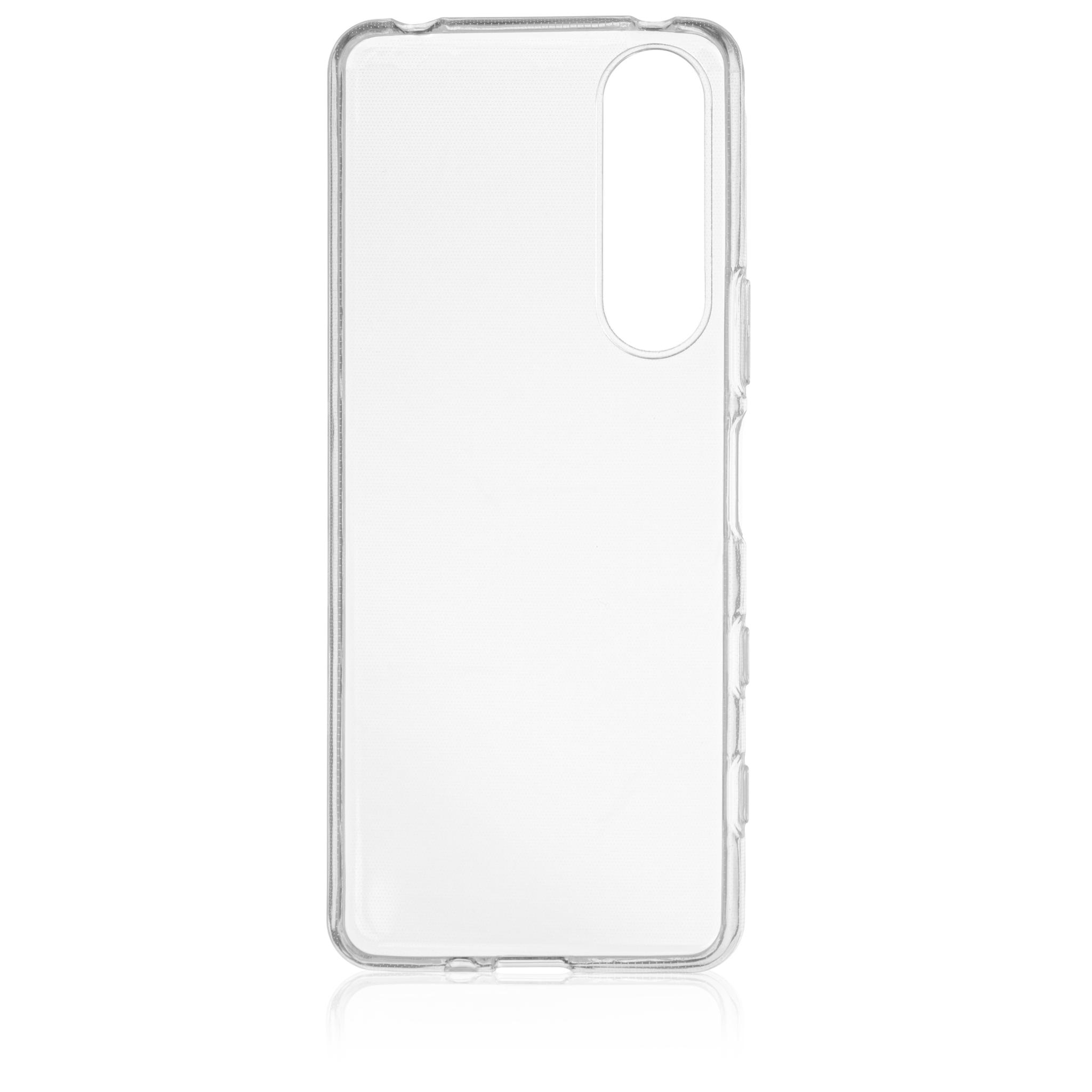 Brosco XPERIA 5 III / Накладка силиконовая прозрачная