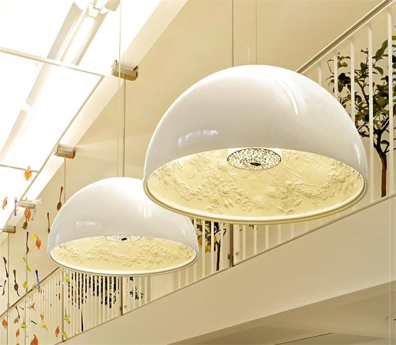Подвесной светильник копия Skygarden by Flos D90 (белый)