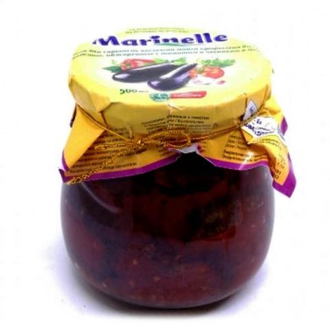 Баклажаны MARINELLE обжарен кольцами в томат соусе 500 мл ст/б УЗБЕКИСТАН