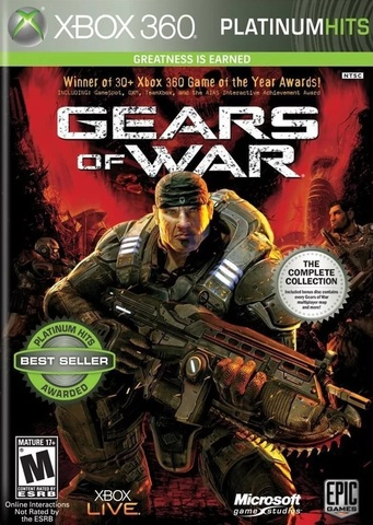 Gears of War (Xbox 360, английская версия)