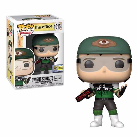 Funko POP! SDCC 2020: the office. Dwight Schrute as Recyclops 1015 (Exc)